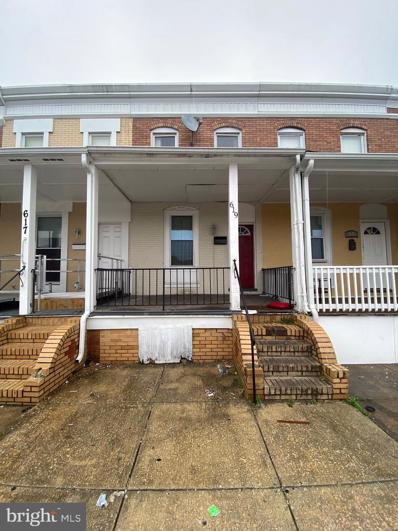 619 S Pulaski Street, Baltimore, MD 21223 - #: MDBA545766