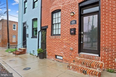 438 Saint Mary Street, Baltimore, MD 21201 - #: MDBA545834