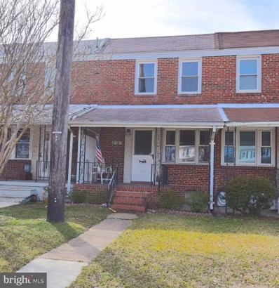 1404 Dundalk Avenue, Baltimore, MD 21222 - #: MDBA545966