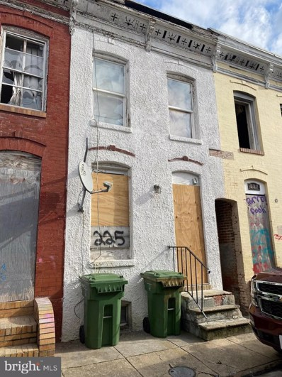 225 S Vincent Street, Baltimore, MD 21223 - #: MDBA546044