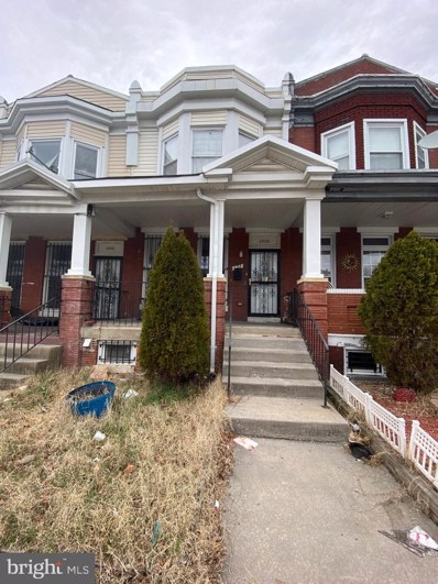 2408 Edmondson Avenue, Baltimore, MD 21223 - #: MDBA546048