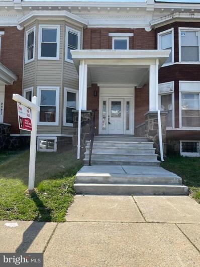 2323 W Lanvale Street, Baltimore, MD 21216 - #: MDBA546092