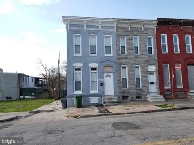 1827 E Federal Street, Baltimore, MD 21213 - #: MDBA546130
