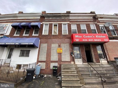 2806 Edmondson Avenue, Baltimore, MD 21223 - #: MDBA546336