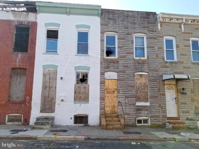 2217 Christian Street, Baltimore, MD 21223 - #: MDBA546348