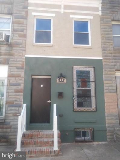 1809 Ramsay Street, Baltimore, MD 21223 - #: MDBA546420