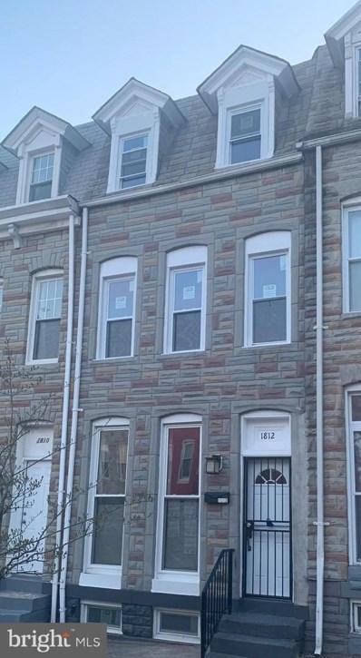 1812 N Caroline Street, Baltimore, MD 21213 - #: MDBA546578