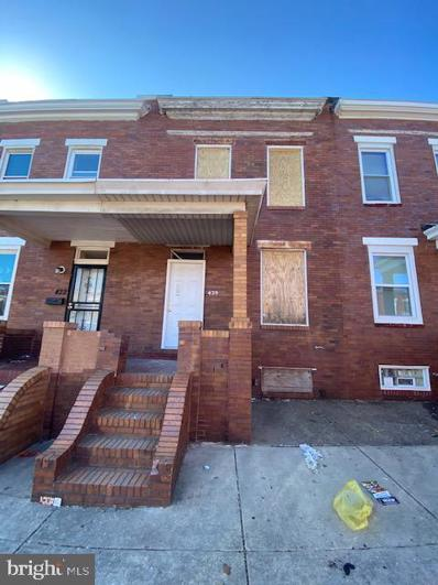 424 N Clinton Street, Baltimore, MD 21224 - #: MDBA546984