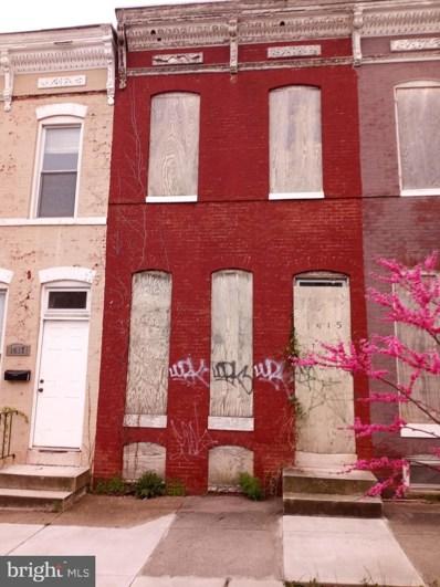 1415 E Lanvale Street, Baltimore, MD 21213 - #: MDBA547030