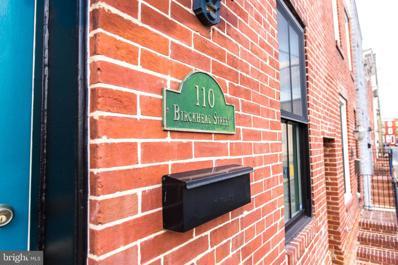 110 Birckhead Street, Baltimore, MD 21230 - #: MDBA547422