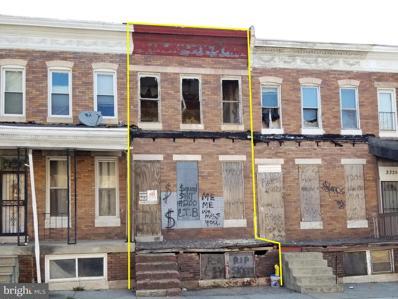 2329 Druid Hill Avenue, Baltimore, MD 21217 - #: MDBA547444