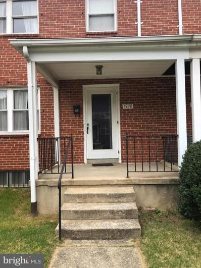 1920 Heathfield Road, Baltimore, MD 21239 - #: MDBA547632
