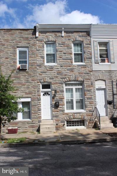 3402 E Lombard Street, Baltimore, MD 21224 - #: MDBA547812