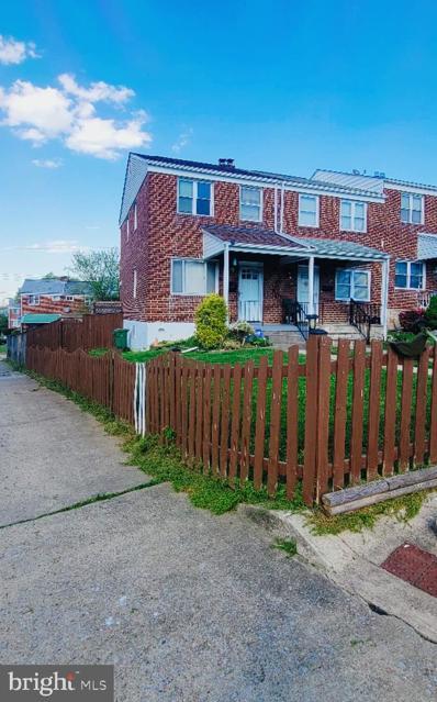 1601 S Ellamont Street, Baltimore, MD 21230 - #: MDBA547814