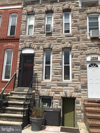 1226 W Cross Street, Baltimore, MD 21230 - #: MDBA547820