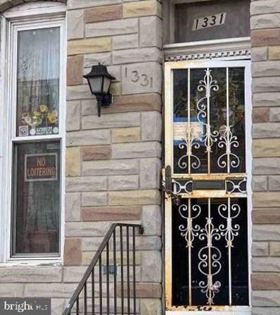 1331 N Fulton Avenue, Baltimore, MD 21217 - #: MDBA547870