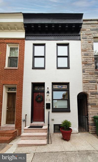316 S Collington Avenue, Baltimore, MD 21231 - #: MDBA547972