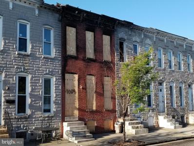 1609 E Lanvale Street, Baltimore, MD 21213 - #: MDBA548032