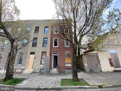 523 Bloom Street, Baltimore, MD 21217 - #: MDBA548272