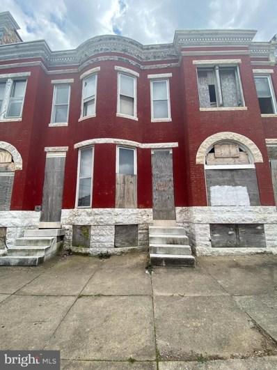 1907 W Fayette Street, Baltimore, MD 21223 - #: MDBA548682