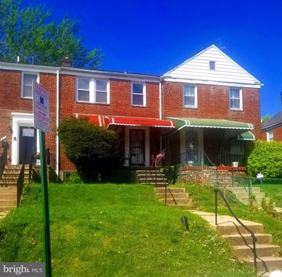 1614 Northgate Road, Baltimore, MD 21218 - #: MDBA548946