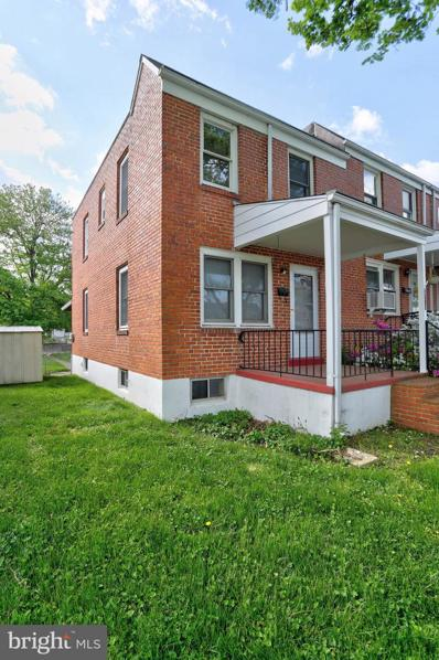 3713 Clarenell Road, Baltimore, MD 21229 - #: MDBA548988