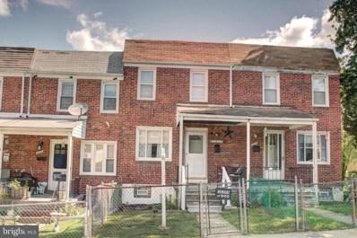 1017 Wilmington Avenue, Baltimore, MD 21223 - #: MDBA548992