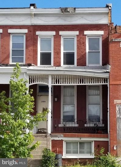 1806 E North Avenue, Baltimore, MD 21213 - #: MDBA549120