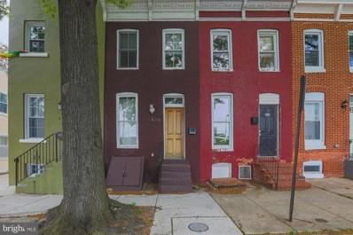 426 E Federal Street, Baltimore, MD 21202 - #: MDBA549304