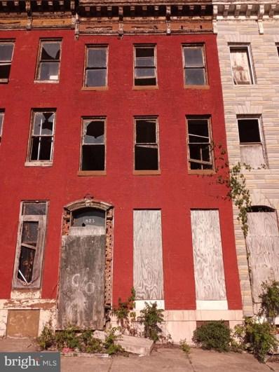 823 N Gilmor Street, Baltimore, MD 21217 - #: MDBA549384