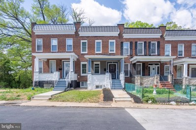 3102 Oakfield Avenue, Baltimore, MD 21216 - #: MDBA549524