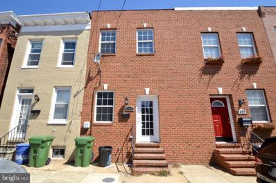 834 Mangold Street, Baltimore, MD 21230 - #: MDBA549550