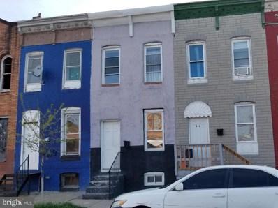 431 S Pulaski Street, Baltimore, MD 21223 - #: MDBA549812