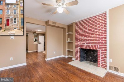 1008 W Lombard Street, Baltimore, MD 21223 - #: MDBA549874