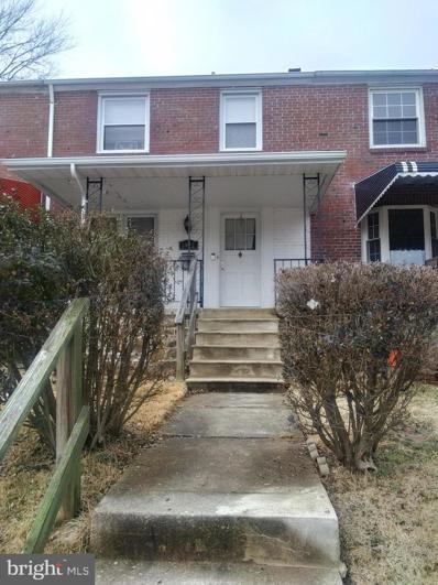 3922 Kimble Road, Baltimore, MD 21218 - #: MDBA549910