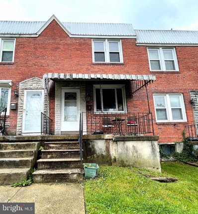 1028 Parksley Avenue, Baltimore, MD 21223 - #: MDBA549994