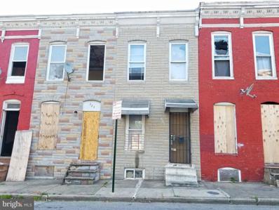 325 Furrow Street, Baltimore, MD 21223 - #: MDBA550226