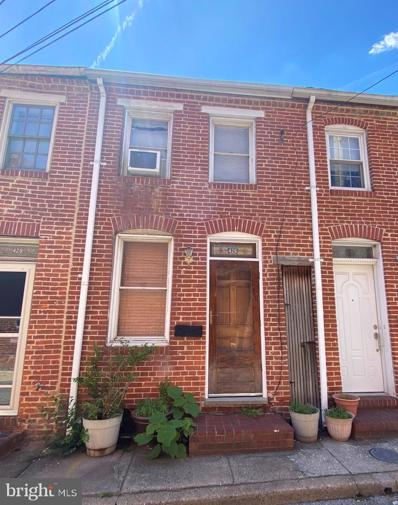 426 S Chapel Street, Baltimore, MD 21231 - #: MDBA550230