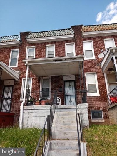 2526 W Franklin Street, Baltimore, MD 21223 - #: MDBA550334