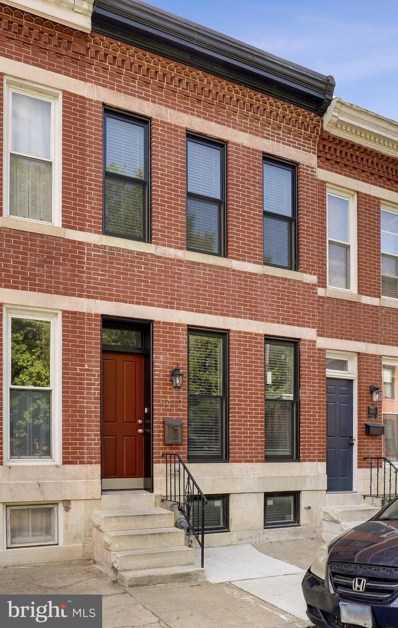 1412 Marshall Street, Baltimore, MD 21230 - #: MDBA550720
