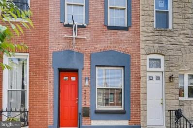 222 S Eaton Street, Baltimore, MD 21224 - #: MDBA550804