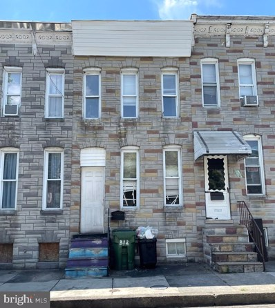 312 S Woodyear Street, Baltimore, MD 21223 - #: MDBA550872