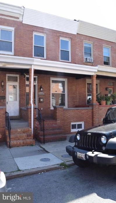 613 S Eaton Street, Baltimore, MD 21224 - #: MDBA550904