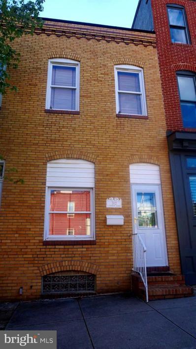 702 S Clinton Street, Baltimore, MD 21224 - #: MDBA551070