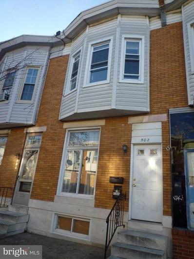 502 S Macon Street, Baltimore, MD 21224 - #: MDBA551148