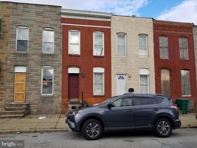 322 S Smallwood Street, Baltimore, MD 21223 - #: MDBA551296