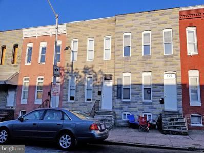 408 S Smallwood Street, Baltimore, MD 21223 - #: MDBA552026
