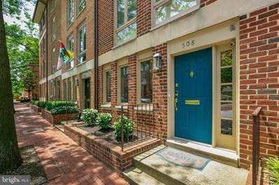 508 S Hanover Street, Baltimore, MD 21201 - #: MDBA552134