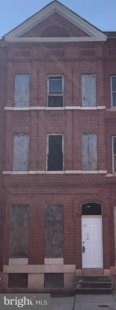 733 Dolphin Street, Baltimore, MD 21217 - #: MDBA552142