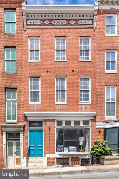 116 W Mulberry Street, Baltimore, MD 21201 - #: MDBA552184